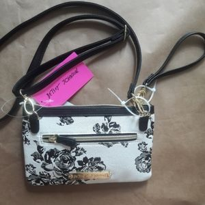 Betsy Johnson floral purse